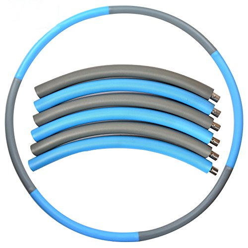 E-Online 2 lbs Weighted Hula Hoop for Exercise and Fitness, 37
