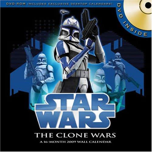 Star Wars Clone Wars 2009 Calendar plus bonus DVD by Trends