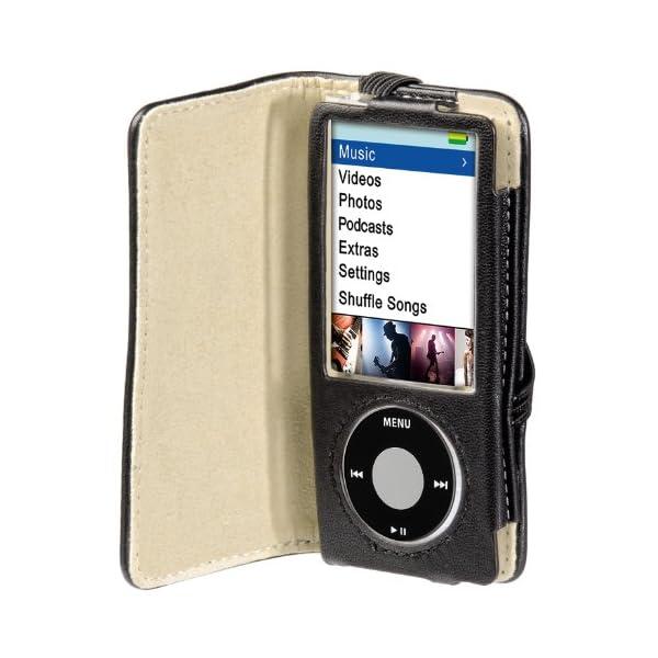 """Hama -""""Delicate"""" Leather Case para iPod nano 5G, Black, 64 x 10 x 112 mm 6"""