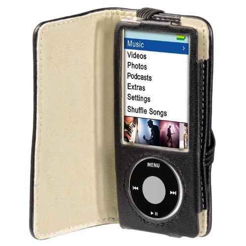 """Hama -""""Delicate"""" Leather Case para iPod nano 5G, Black, 64 x 10 x 112 mm 5"""