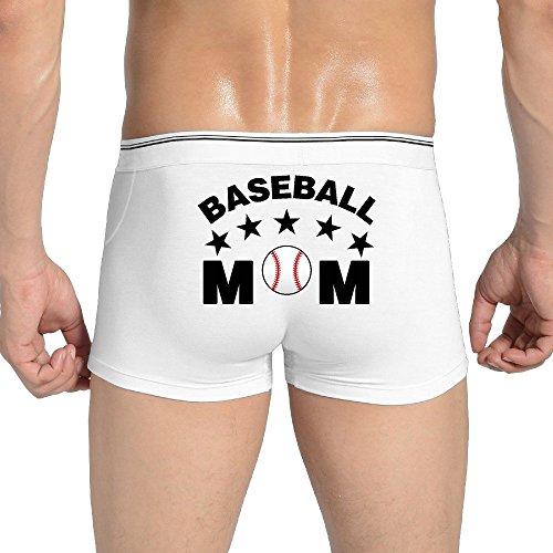 Men's Underwear Baseball Mom Sports Mom Low-Rise Brief (David Beckham Underwear For Men)