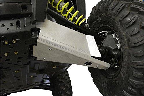 Polaris, RZR-S 1000, RZR-S 900,RZR-4 900, 4 piece Aluminum A-Arm & CV Boot Guard Set by Ricochet For 2016, 2017 Models