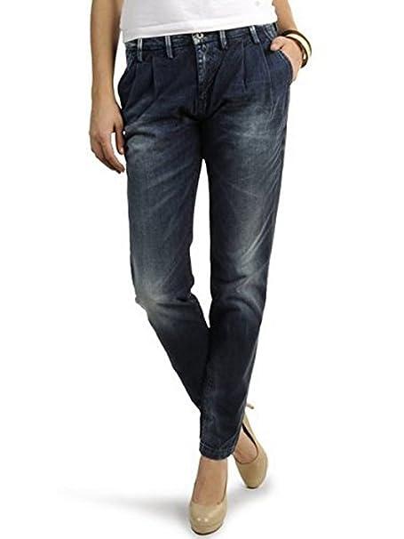 PEPE JEANS Pantalon Vaquero Modelo Chintz Pinzas Slim Azul ...