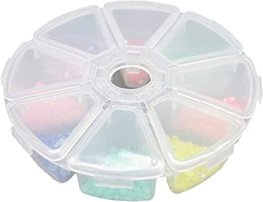 NEW Craft Jewelry Beads Plastic Storage Organizer Case Bead Box Container Gift