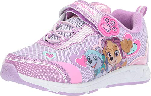 Patrol Sneaker Shoes - Josmo Kids Baby Girl's Paw Patrol Sneaker (Toddler/Little Kid) Purple 8 M US Toddler