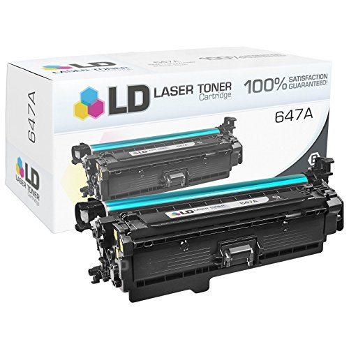 LD © Remanufactured Replacements for HP 647A / 648A Set of 4 Toner Cartridges (Black, Cyan, Magenta & Yellow) for use in Color LaserJet / Enterprise CP4025dn, CP4025n, CP4525dn, CP4525n, CP4525xh Photo #6