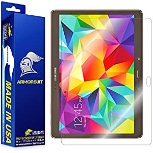 ArmorSuit MilitaryShield - Samsung Galaxy Tab S 10.5 Screen Protector Anti-Bubble Ultra HD - Extreme Clarity & Touch Responsive with Lifetime Replacements Warranty