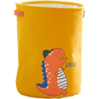 Cabilock Cartoon Collapsible Laundry Hamper Waterproof Contton Laundry Basket Large Storage Bin for Nursery Hamper and…