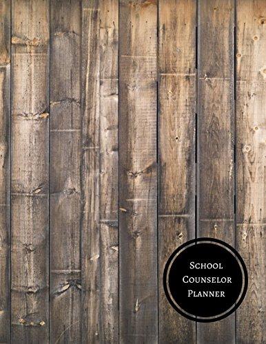 School Counselor Planner: School Couselor Log ebook