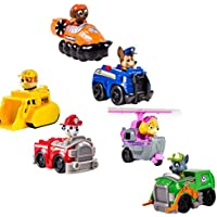 6 PCS Paw Patrol Snow Slide Toys set