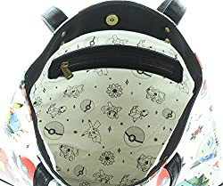 Loungefly Pokemon Tattoo All Over Print Tote Bag