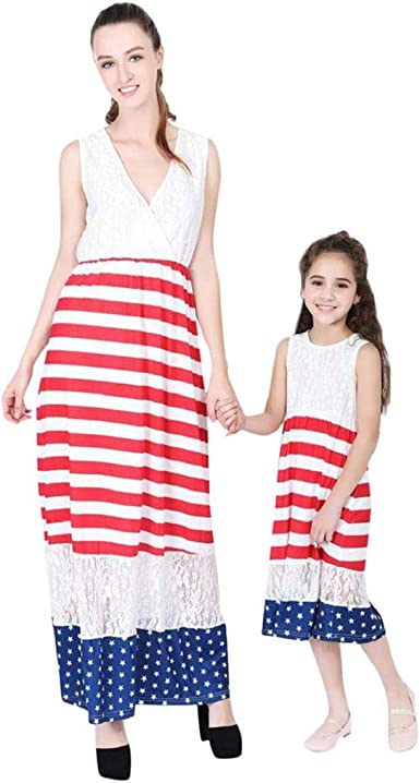 CANDLLY Mujer Vestidos de Fiestas Mamá y Yo Estados Unidos ...