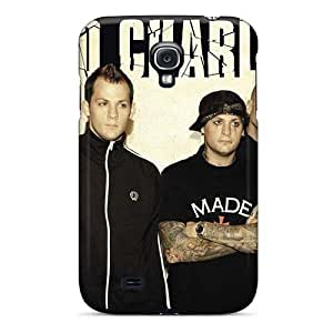 DannyLCHEUNG Samsung Galaxy S4 High Quality Cell-phone Hard Cover Provide Private Custom Beautiful Good Charlotte Band Image [vbL497gHBU]