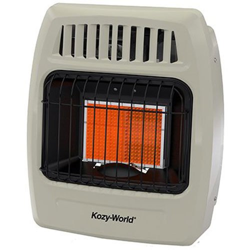 World MKTG of America/Import KWN209 1 Plaque 6000 BTU Gas Wall Heater