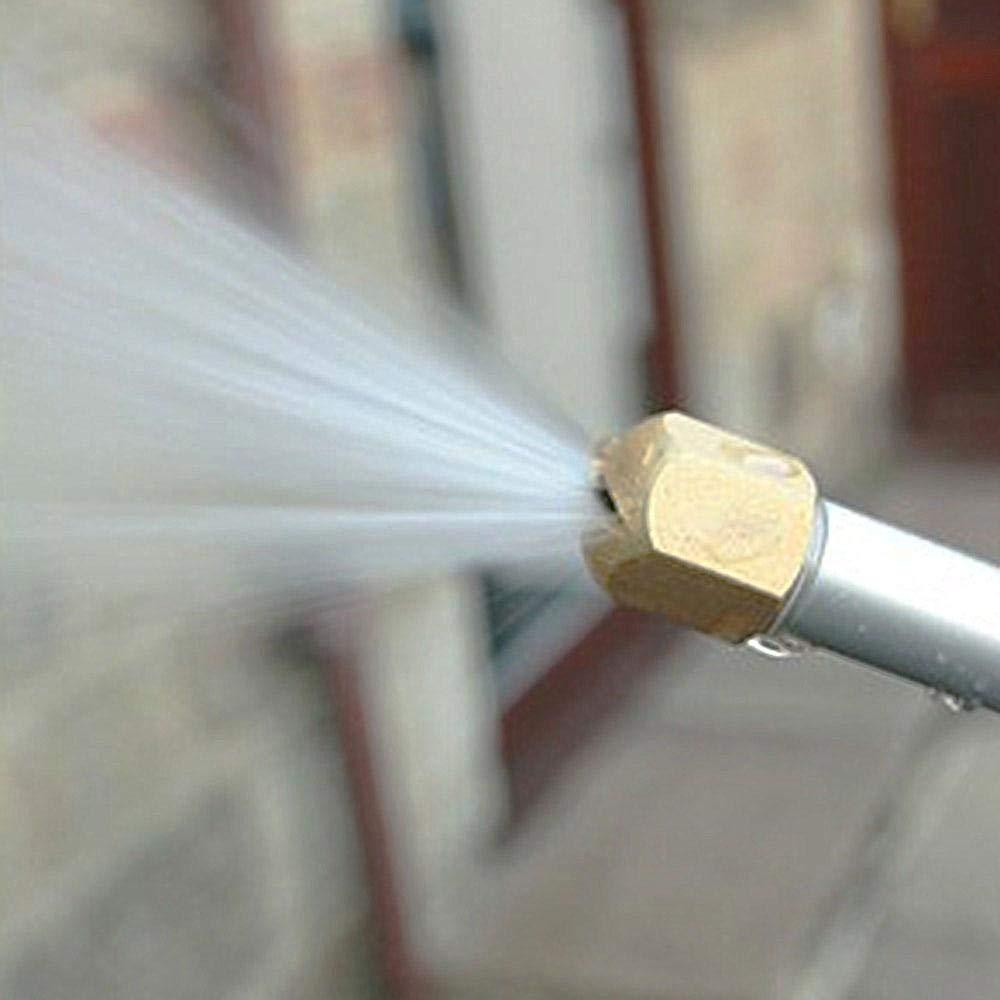 pulverizador FOONEE Extensi/ón de Varita de arandela el/éctrica Boquilla de riego Pistola de Agua de Alta presi/ón Herramientas de Limpieza de Lavado de Coche