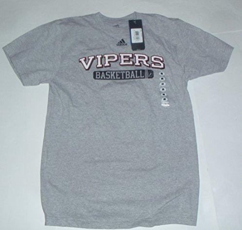 Rio Grande Valley Vipers Basketball (Houston Rockets) Gray adidas Official NBDL T-Shirt (Medium)