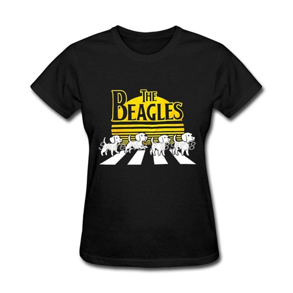 Amazon Casual T Shirt Women Custom Made Kawaii Beagles Dog T