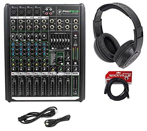 8 interface mixer mackie - 2