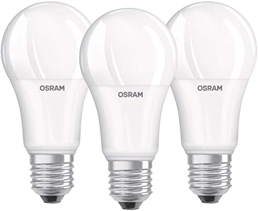 Osram 819412 Bombilla LED E27, 14 W, Blanco, 3 Unidades: Amazon.es ...
