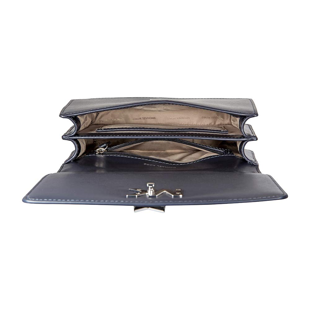 Amazon.com: Michael Kors Mott - Bolso grande de piel para el ...