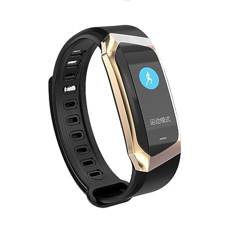 Fitness Reloj de pulsera con pulsómetro resistente al agua Fitness Tracker Actividad tracker Pulso Relojes Bluetooth