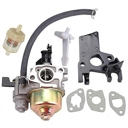 Harbot Carburetor for Harbor Freight Predator 212CC 6.5HP 7HP 68121 69727 68120 69730 Gas Engine with Gasket Fuel Filter ()