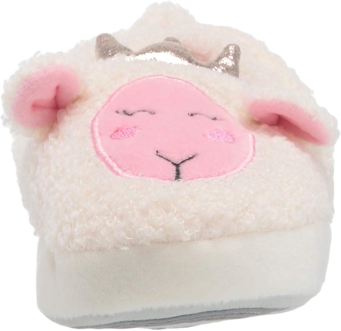 Stride Rite Kids Fluffy White Slippers Toddler//Little