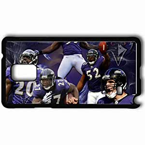 Personalized Samsung Note 4 Cell phone Case/Cover Skin 918 baltimore ravens 1 Black by icecream design