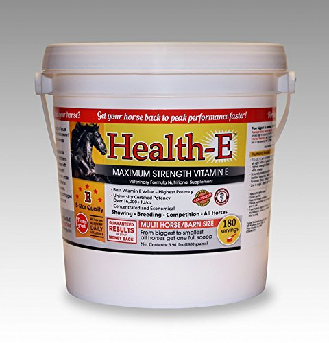 - Equine Medical and Surgical Health-E Maximum Strength Vitamin E 180 Day