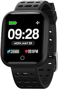 Azorex SmartWatch Multifunción Reloj Inteligente Redondo Deportivo ...