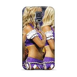 UUbxU1495vPLwp Minnesota Vikings Cheerleaders Outfit Fashion Tpu S5 Case Cover For Galaxy