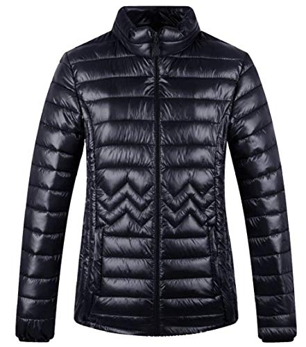 TTYLLMAO Coats Stylish Down Women's Goose Zip Lightweight 1 Jacket Ultra Packable awU7SfTxna