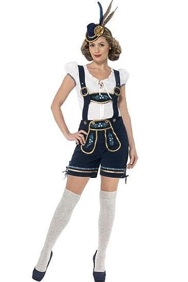 BOZEVON Clásico Disfraz de Baviera Mujer Oktoberfest Cosplay ...
