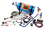 NOS/Nitrous Oxide System 05160NOS GM LS3 Complete Nitrous Kit Wet Plate Design 75-150 HP Incl. 10 lb. Bottle/2 Stage Controller/Tubing/Wiring/Hardware/Flare Jets/Cheater And Cheater II Solenoids