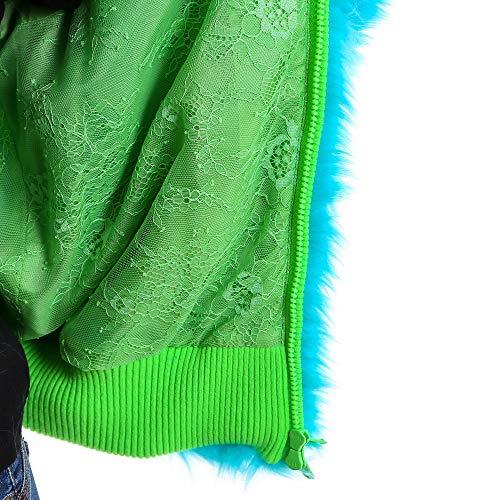 Giacca poliestere blu V06131686313 in Ferretti Donna trasparente Alberta txq4p1w