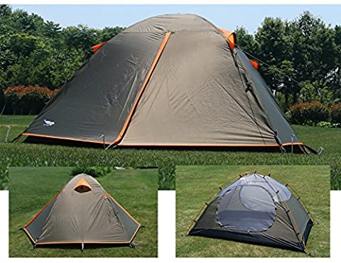 Luxe Tempo Enhanced Version 2 Person Tents for Camping Backpacking with Rainfly 3-4 season 2 Doors 2 Vestibules (The Middle Season 1 2 3 4)
