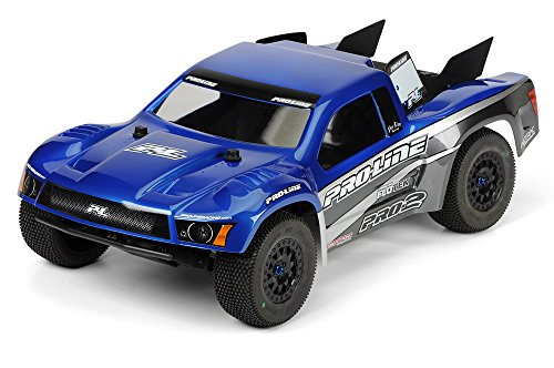 Pre Painted Body - PROLINE 336613 Pre-Painted Flo-Tek Ford F-150 Raptor SVT Body Vehicle Part, Blue/Stealth
