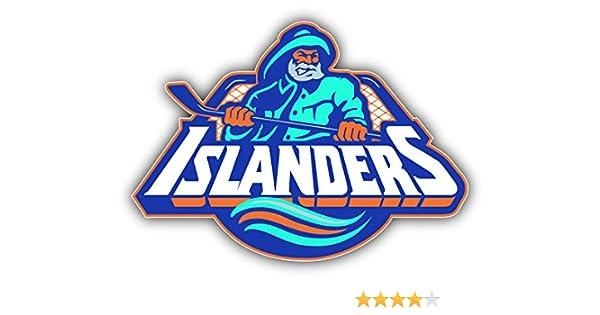 hotprint Islanders Hockey New York Logo Car Bumper Sticker Decal
