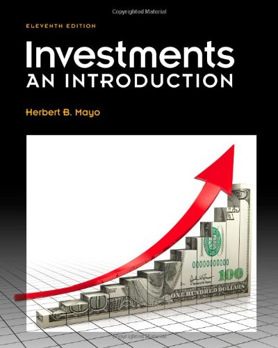 Investments: An Introduction (with Thomson ONE - Business School Edition 6-Month Printed Access Card and Stock-Trak Coupon) by Brand: Cengage Learning