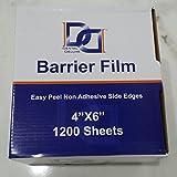 "Barrier Film 1200 Sheets 4"" x 6"" Per Box Dental"