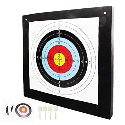 24 White BIGSHOT ARCHERY Big Shot Iron Man Extreme 500 Target
