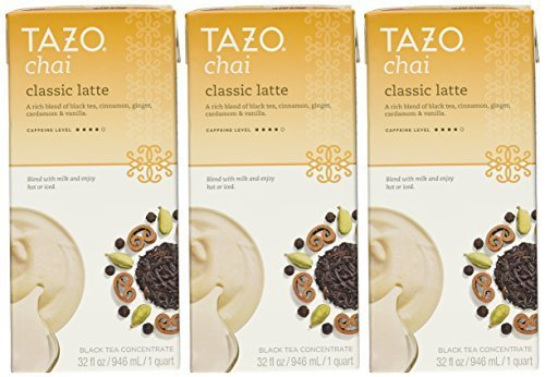 (Tazo Chai Tea Latte Concentrate 32 Oz (2x32 Oz))