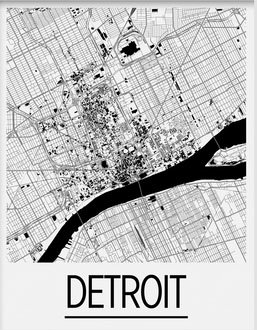 Amazon.com: I Like Maps - Detroit, MI Black & White Art Deco ... on memphis map, united states map, duluth map, chicago map, toronto map, henry ford hospital map, royal oak map, great lakes map, cincinnati map, compton map, michigan map, las vegas map, pittsburgh map, atlanta map, quebec map, baltimore map, highland park map, usa map, st louis on map, new york map,