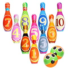 Kids Bowling Toy Set,