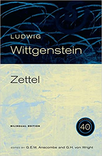 Book Cover for Zettel: 40th Anniversary Edition