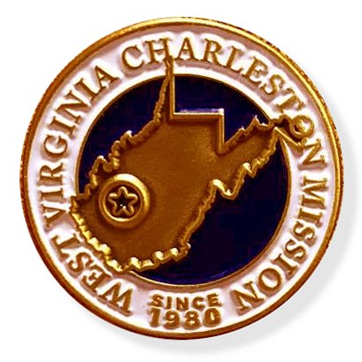 LDS West Virginia Charleston Mission Commemorative Lapel ()