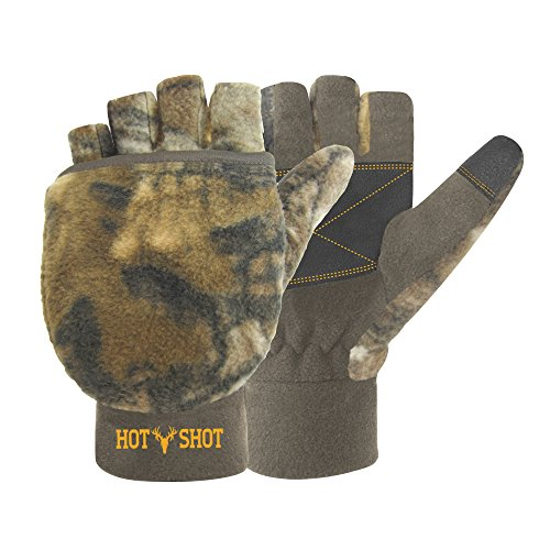 Hot Shot Bulls Eye Pop Top Mitten