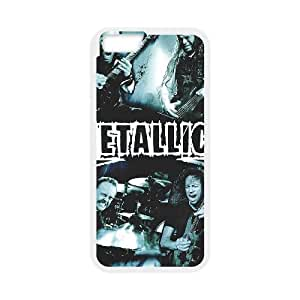 Metallica iPhone 6 Plus 5.5 Inch Cell Phone Case White yyfabd-327728