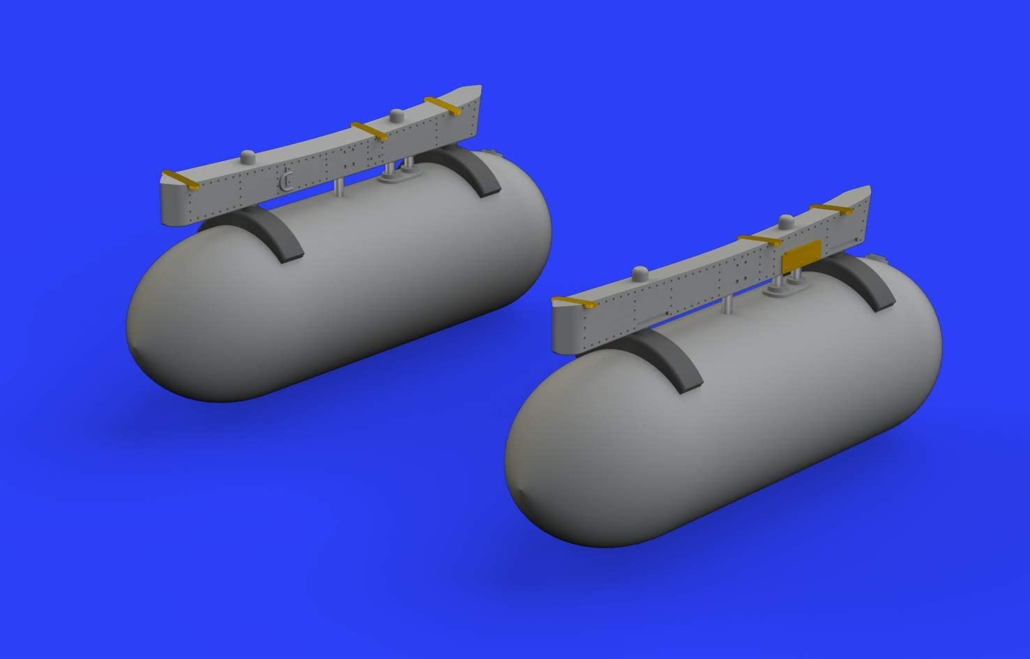 Various Model Kit Brassin Tamiya Eduard EDB672213 1:72-Ki-61-I Fuel Tanks