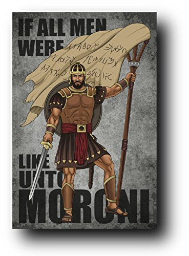Captain Moroni - Lds - Book of Mormon - Poster / Print - Artwork